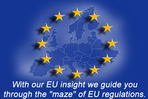 With the EU insight of .BCNI LLC we guide you through the flood of EU regulations and EU tenders.